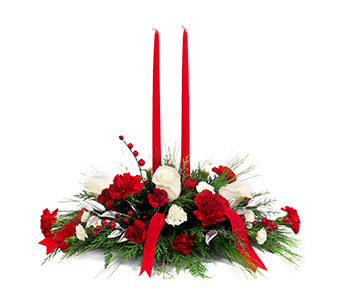 Merry Christmas Wishes in Franklin IN, Bud and Bloom Florist