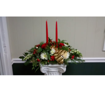Holiday Centerpiece 2 in Athens GA, Flower & Gift Basket