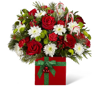 Holiday Cheers Bouquet in Birmingham AL, Norton's Florist