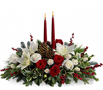 Christmas Wishes Centerpiece  in McLean VA, MyFlorist