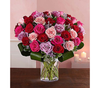 Dazzling Romance Rose Bouquet-Small in El Cajon CA, Conroy's Flowers