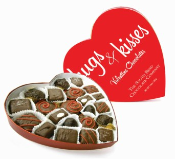 Gourmet Chocolates in Heart Shaped Box in Perrysburg & Toledo OH  OH, Ken's Flower Shops
