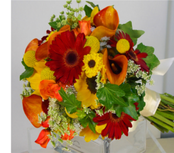 MIXED FALL BOUQUET in Ellicott City MD, Raimondi's Weddings
