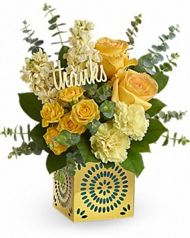 Shimmer of Thanks in Perrysburg & Toledo OH  OH, Ken's Flower Shops