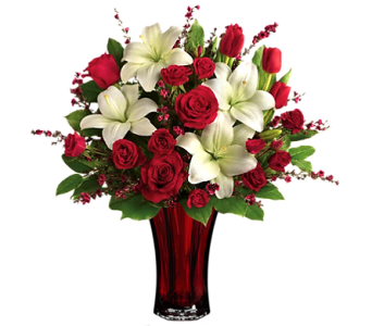 Love's Passion Bouquet by Teleflora in Birmingham AL, Norton's Florist