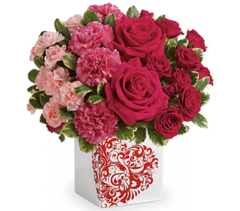 Teleflora's Swirling Heart Bouquet in Birmingham AL, Norton's Florist