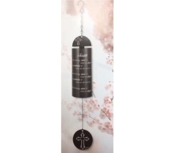 Faith Wind Bell in Brownsburg IN, Queen Anne's Lace Flowers & Gifts