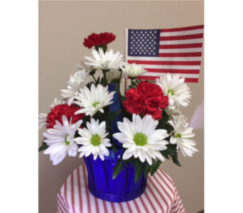 Stars and Stripes in Brownsburg IN, Queen Anne's Lace Flowers & Gifts