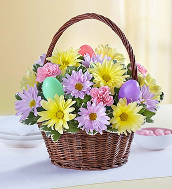 Easter Egg Basket-Small in El Cajon CA, Conroy's Flowers