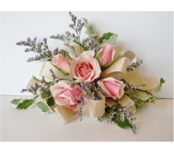 Corsage of Pink Spray Roses in Nashville TN, Flowers By Louis Hody
