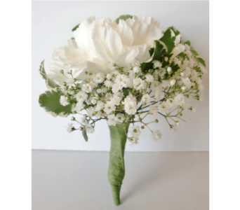 White Carnation Boutonniere  in Nashville TN, Flowers By Louis Hody