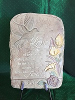 MEMORIAL STONE LOVE IS A BOND in Bay City MI, Keit's Flowers