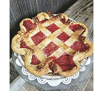 Strawberry Rhubarb Pie in Portland OR, Portland Bakery Delivery