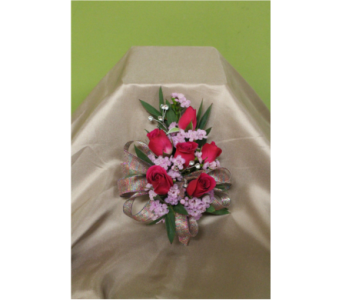 Hot Pink Sweetheart Rose Corsage in Ellicott City MD, The Flower Basket, Ltd