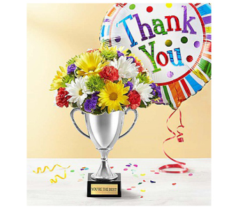 Trophy Bouquet to say Thank You in El Cajon CA, Conroy's Flowers