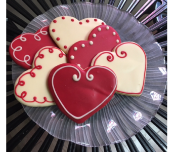 Heart Cookies in Portland OR, Portland Florist Shop