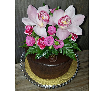 Pink Orchid Cake in Portland OR, Portland Bakery Delivery