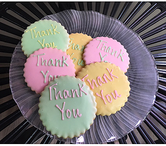 Thank You Cookies in Portland OR, Portland Bakery Delivery