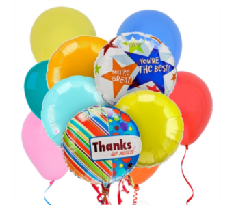Thank You! Balloon Bouquet in San Antonio TX, Dusty's & Amie's Flowers