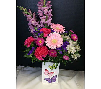 Beautiful Butterfly in Moon Township PA, Chris Puhlman Flowers & Gifts Inc.