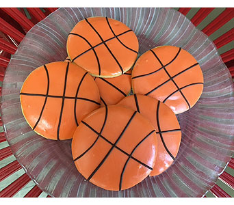 Basketball Cookies Large in Portland OR, Portland Bakery Delivery