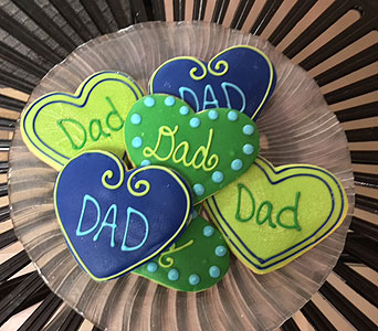 New Dad Cookies! in Portland OR, Portland Bakery Delivery
