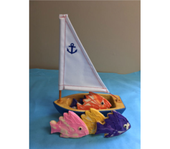 Sailing Fish Cookies in Portland OR, Portland Bakery Delivery