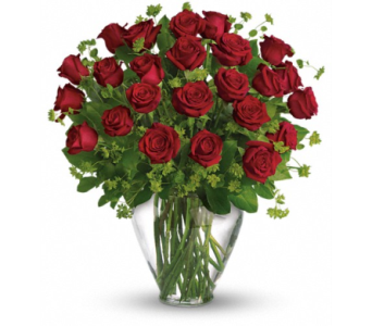 24 Red or Mixed Roses in Ft. Lauderdale FL, Jim Threlkel Florist