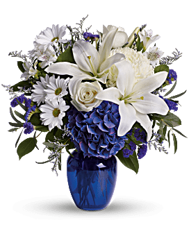 Beautiful in Blue in Perrysburg & Toledo OH  OH, Ken's Flower Shops