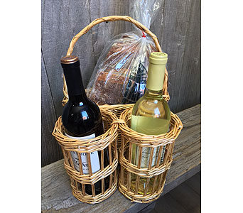 Wine and Bread to GO in Portland OR, Portland Florist Shop