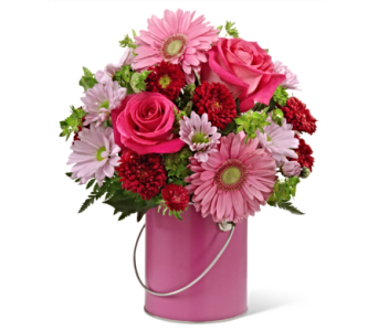The FTD� Color Your Day With Happiness Bouquet in San Antonio TX, Dusty's & Amie's Flowers