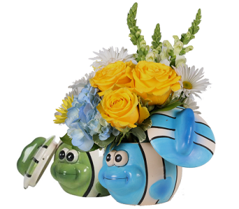 Baby Fishes Bouquet for Boys in Birmingham AL, Norton's Florist