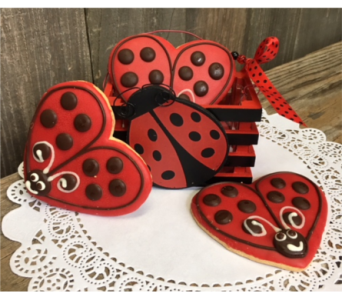 Lady Bug Box and Cookies in Portland OR, Portland Florist Shop