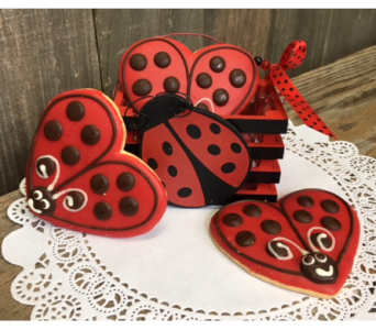 Lady bug box in Portland OR, Portland Bakery Delivery