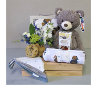 Baby Essentials - Blue in Walla Walla WA, Holly's Flower Boutique