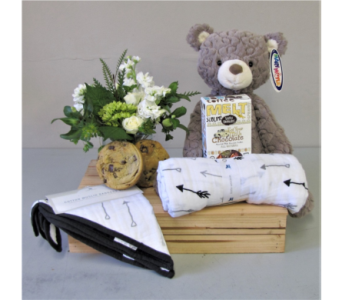Bundle of Joy - White in Walla Walla WA, Holly's Flower Boutique