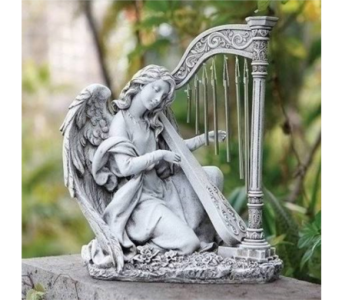 Kneeling Angel Wind Chime  in Perrysburg & Toledo OH  OH, Ken's Flower Shops
