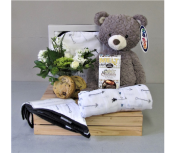 Baby Essentials - White in Walla Walla WA, Holly's Flower Boutique