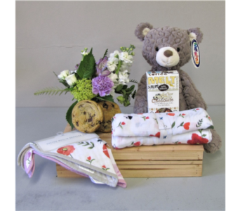 Bundle of Joy - Pink in Walla Walla WA, Holly's Flower Boutique