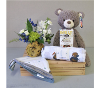 Bundle of Joy - Blue in Walla Walla WA, Holly's Flower Boutique