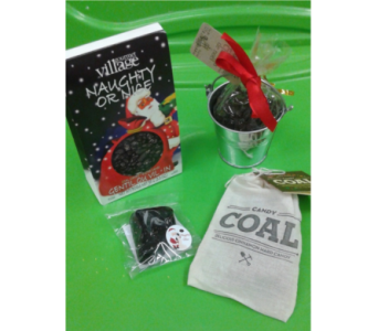 Naughty or Nice Coal Candy in North Bay ON, The Flower Garden