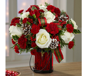 Holiday Wishes� Bouquet by Better Homes and Garden in Birmingham AL, Norton's Florist