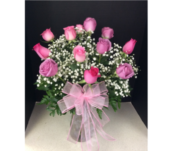 MIXED ROSES in Moon Township PA, Chris Puhlman Flowers & Gifts Inc.