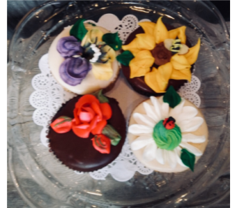 4 Spring CupCakes in Portland OR, Portland Bakery Delivery