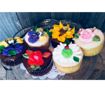 Spring Cupcakes in Portland OR, Portland Bakery Delivery