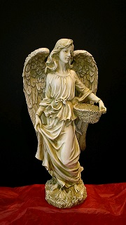 ANGEL WITH BASKET in Bay City MI, Keit's Flowers