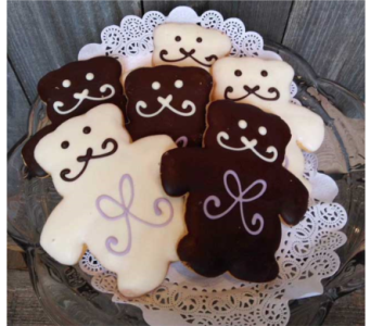 Teddy Bear Cookies in Portland OR, Portland Bakery Delivery