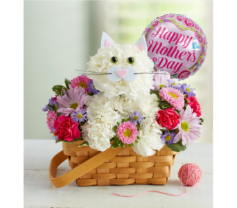 Fabulous Feline for Mom in El Cajon CA, Conroy's Flowers