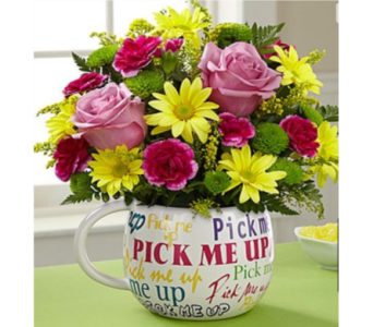 Pick me up and smile in Portland OR, Portland Florist Shop