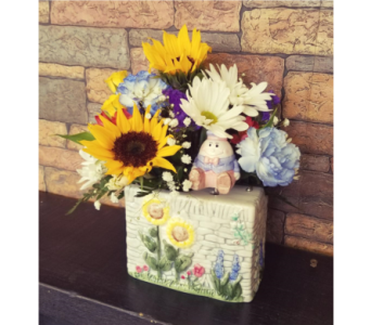Baby Humpty Musical Vase in Chattanooga TN, Chattanooga Florist 877-698-3303